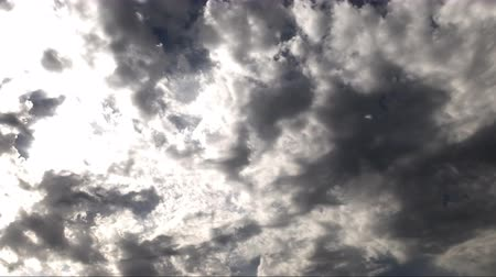 gale : Dark Epic Clouds Time Lapse Stock Footage