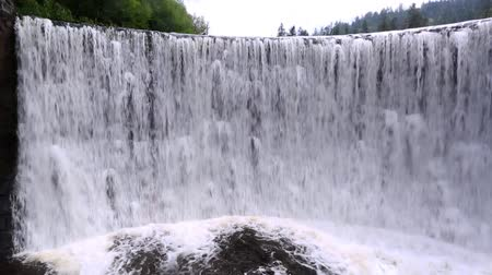 wisla : The power of a mountain waterfall