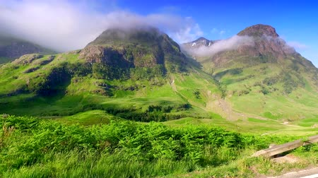 coe : Beautiful sunrise over the mountains of Glencoe in Scotland