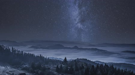 milkyway : Milky way in the Tatra Mountains at night, Poland