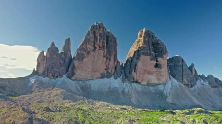 tre : Stunning and majestic Tre Cime in Dolomites, Italy