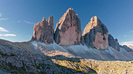 monte paterno : Wonderful view to Tre Cime di Lavaredo in Dolomites