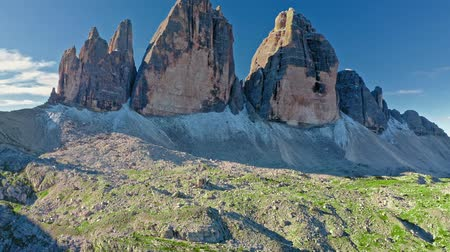monte paterno : Wonderful view to Tre Cime di Lavaredo, Dolomites, Italy
