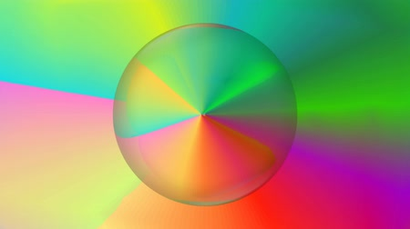 rozptyl : Magic rainbow abstract video with rainbov gradient circle, color space rotating, disco background Dostupné videozáznamy