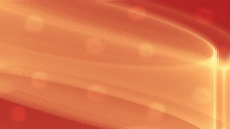 вспышка : Fiery orange abstract background with flashing blurry lights, orange wavy flowing area, video futuristic sci-fi Стоковые видеозаписи