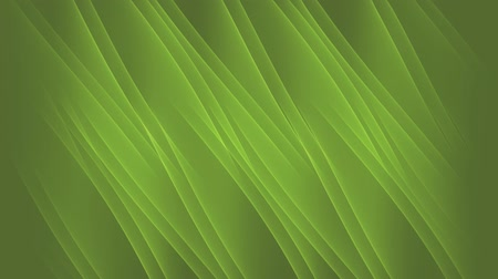 светящийся : diagonally flowing green waves, calming nature abstract background Стоковые видеозаписи