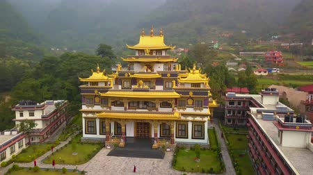 gompa : Buddhist Monastery, Kathmandu valley, Nepal - October 16, 2017