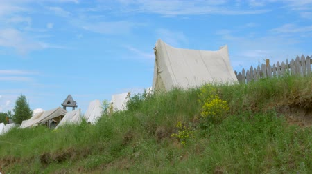 sivil : the tents of the founders of America. historical reconstruction