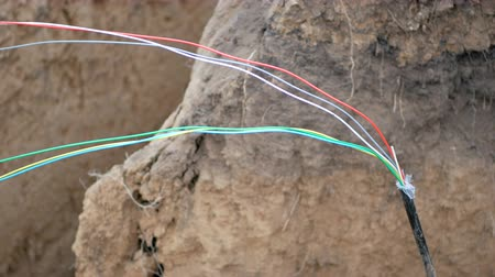 chloride : Fiber optic cable