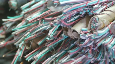 used copper communication cable