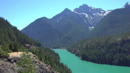 északnyugati : North Cascades Diablo Lake Overlook