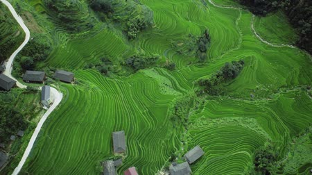 minoria : shooting from a drone over the Chinese highlands