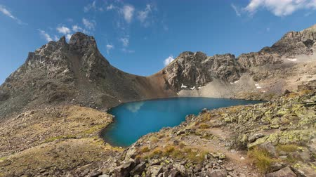 picos : Mountain lake with reflection on the smooth water.