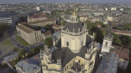 юра : Flying over Cathedral of St. Jura (St. Georges)