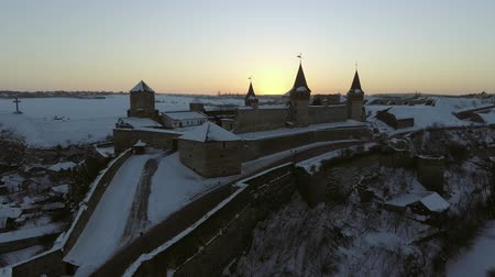 winter palace : Kamenec-Podolskii, Ukraine castle