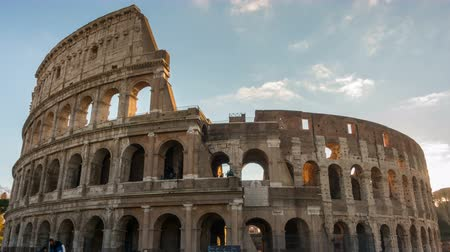The Colosseum or Coliseum timelapse, Flavian Amphitheatre in Rome, Italy Dostupné videozáznamy