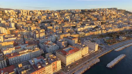 meridional : Aerial view of Naples. Italy