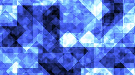 prim : Abstract Background Blue Crystals Seamless Looped Stok Video