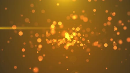 sutil : 4K Golden Blinking Particles motion backgrounds