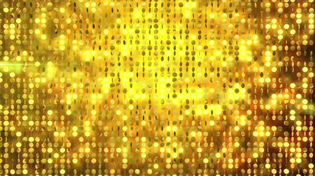 Sequin Gold Flat Pattern Reflective Shine Light Particles Motion Background