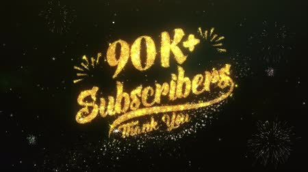 abonament : 90K+ Subscribers Greeting and Wishes Sparklers firework .