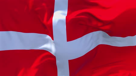 rád : Sovereign Military Order of Malta Flag Waving in Wind Slow Motion Animation . 4K Realistic Fabric Texture Flag Smooth Blowing on a windy day Continuous Seamless Loop Background.