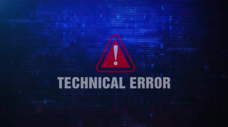 неправильно : Technical Error Alert Warning Error Message Blinking on Screen . Entering Login And Password on Computer Screen 4K . Abstract Digital Glitch and Distorted Noise, Computer Hacking Concept Стоковые видеозаписи