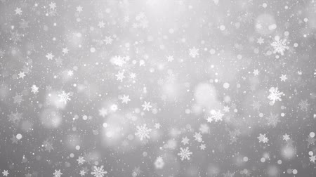 разброс : Elegant abstract silver snow snowfall snowflake Particles. Winter Christmas animated grey white glitter background. theme. Seamlessly Loop Black Alpha Green Screen Animation.
