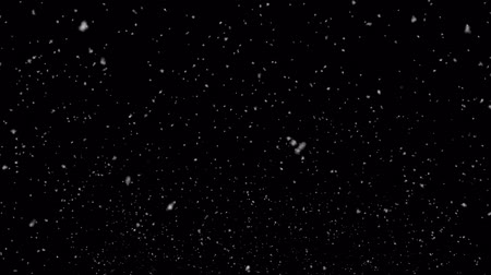 iluminado para trás : Camera to Down Snow Modern Falling Christmas snow snowflake background. snow snowfall snowflake Particles Seamlessly Loop Black Alpha Green Screen Animation