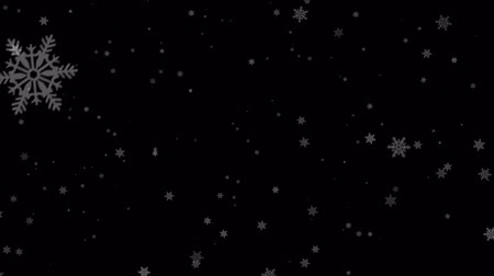 разброс : Slow Motion Gentle Christmas Morning Snow Snowfall Snowflake Particles Seamlessly Loop Black Alpha Green Screen Animation