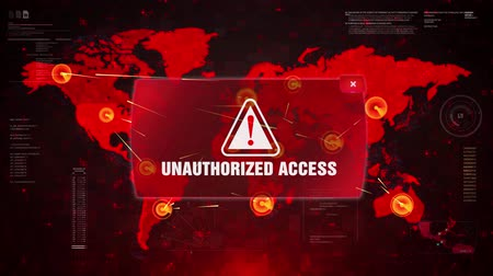 езда с недозволенной скоростью : Unauthorized Access Alert Warning Message Attack on World map. Wire frame Radar Network Seamless loop Motion Background. UI Elements HUD Sci Fi interface. Стоковые видеозаписи