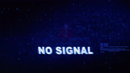 sem problemas : No Signal Text Digital Noise Glitch Effect Tv Screen Background. Login and Password With System Error Security ,Hacking Alert , Cyber Crime Attack Computer Error Distortion Message .