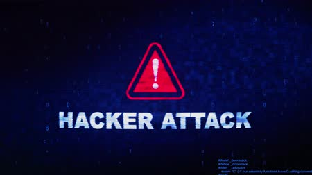 ファイアウォール : Hacker Attack Text Digital Noise Glitch Effect Tv Screen Background. Login and Password With System Error Security ,Hacking Alert , Cyber Crime Attack Computer Error Distortion Message .
