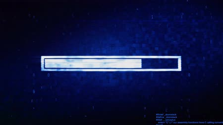navegador : Connection Error Text Digital Noise Glitch Effect Tv Screen Background. Login and Password With System Error Security ,Hacking Alert , Cyber Crime Attack Computer Error Distortion Message . Stock Footage