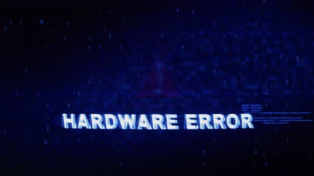 ölümcül : Hardware Error Text Digital Noise Glitch Effect Tv Screen Background. Login and Password With System Error Security ,Hacking Alert , Cyber Crime Attack Computer Error Distortion Message .