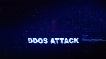 アンロック : Ddos Attack Text Digital Noise Glitch Effect Tv Screen Background. Login and Password With System Error Security ,Hacking Alert , Cyber Crime Attack Computer Error Distortion Message .