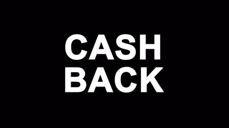 гарантия : Cash Back Glitch Text Abstract Vintage Twitched 4K Loop Motion Animation . Black Old Retro Digital TV Glitch Effect Including Twitch, Noise, VHS, Distortion.