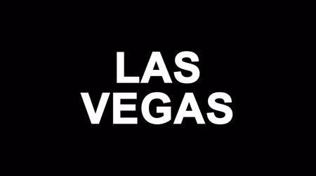 las vegas boulevard : LAS VEGAS Glitch Text Abstract Vintage Twitched 4K Loop Motion Animation . Black Old Retro Digital TV Glitch Effect Including Twitch, Noise, VHS, Distortion.