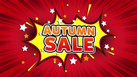 autumn discounts : Autumn Sale Text Pop Art Style Expression. Retro Comic Bubble Expression Cartoon illustration, Sale, Discounts, Percentages, Deal, Offer on Green Screen