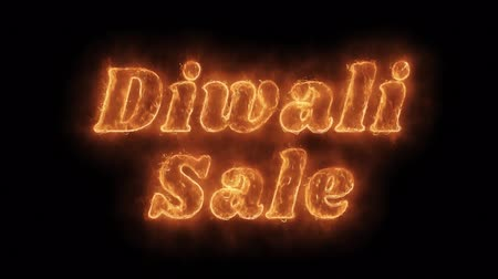 huge sale : Diwali Sale Word Hot Animated Burning Realistic Fire Flame and Smoke Seamlessly loop Animation on Isolated Black Background. Fire Word, Fire Text, Flame word, Flame Text, Burning Word, Burning Text.
