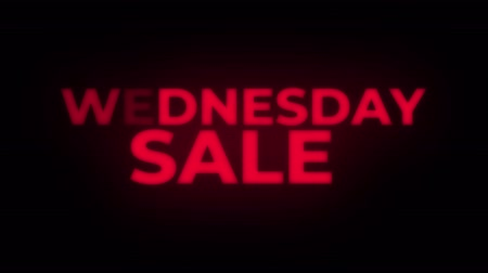 více : Wednesday Sale Text Blinking Flickering Neon Red Sign Loop Background. Sale, Discounts, Deals, Special Offers. Green Screen and Alpha Matte Dostupné videozáznamy