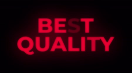 madalya : Best Quality Text Blinking Flickering Neon Red Sign Promotional Loop Background. Sale, Discounts, Deals, Special Offers. Green Screen and Alpha Matte Stok Video