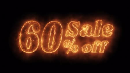 неделя : Sale 605 Percent Off Word Hot Animated Burning Realistic Fire Flame and Smoke Seamlessly loop Animation on Isolated Black Background. Fire Word, Fire Text, Flame word, Flame Text, Burning Word, Burning Text.