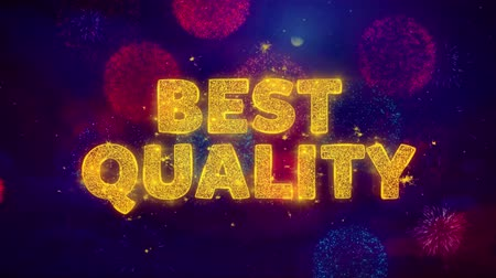 product promo : Best Quality Text on Colorful Firework Explosion Particles. Sale, Discount Price, Off Deals, Offer promotion offer percent discount ads 4K Loop Animation.