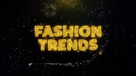 cupom : Fashion Trends Text on Gold Glitter Particles Spark Exploding Fireworks Display. Sale, Discount Price, Off Deals, Offer Promotion Offer Percent Discount ads 4K Loop Animation.