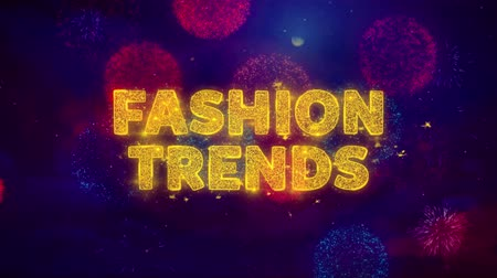 stories : Fashion Trends Text on Colorful Firework Explosion Particles. Sale, Discount Price, Off Deals, Offer promotion offer percent discount ads 4K Loop Animation.
