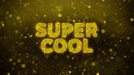 végső : Super Cool Text Golden Glitter Glowing Lights Shine Particles. Sale, Discount Price, Off Deals, Offer promotion offer percent discount ads 4K Loop Animation.