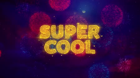 végső : Super Cool Text on Colorful Firework Explosion Particles. Sale, Discount Price, Off Deals, Offer promotion offer percent discount ads 4K Loop Animation.