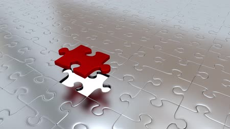 propagação : One Red Puzzle Piece transform all other Silver Puzzle Pieces into Red