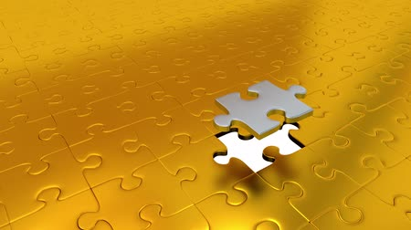 propagação : One Silver Puzzle Piece transform all other Gold Puzzle Pieces into Silver